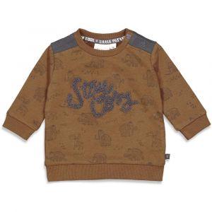 Feetje sweater  B 51601771 cool adventure bruin