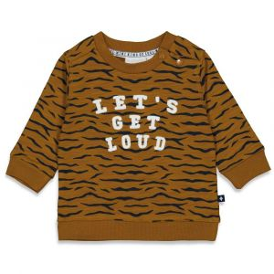 Feetje sweater  B 51601762 King of cool camel;