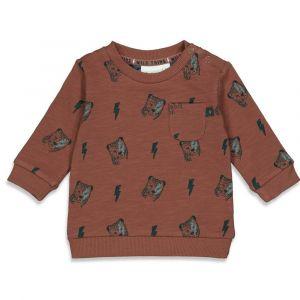 Feetje sweater B 51601732 wild thing bruin