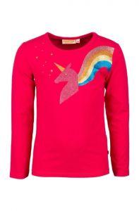Someone L Tee SG03-212-20702 Zanna unicorn pink