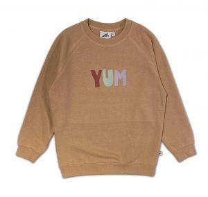 Cos I Said So sweater SWYUM Yum licht bruin