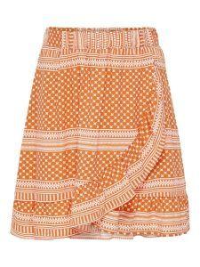 Only skirt Konella 15230981 oranje devotion