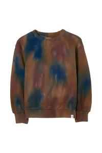 Finger in The Nose trui 0070 tie dye paars bordo