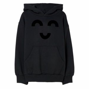 Finger in The Nose hoodie FW2122 smiley