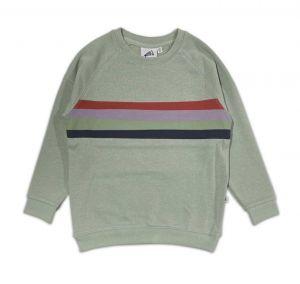 Cos I Said So sweater SWRETRO stripe mint