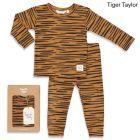 Feetje Pyjama  505.00046 tijger camel