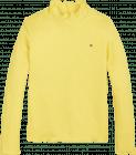 Tommy Hilfiger top KG0KG05515 rib top geel