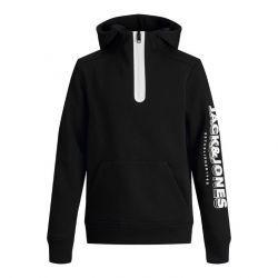 Jack&Jones hoodie jcospring 12198858 zwart zip