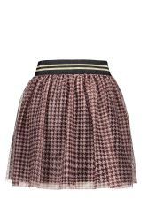 FLO skirt F008-5730 mesh Bordeaux