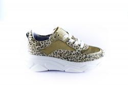 Hip Sneaker H1710-22CO-FC  panter/goud
