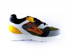 Red Rag Sneaker 13093 Khaki orange