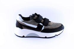 Rondinella sneaker 11714 velcro grijs zwart