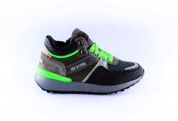 Hip sneaker  H1545-65CO-AC groen