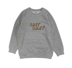Cos I Said So sweater SWCHIT Chit chat grijs
