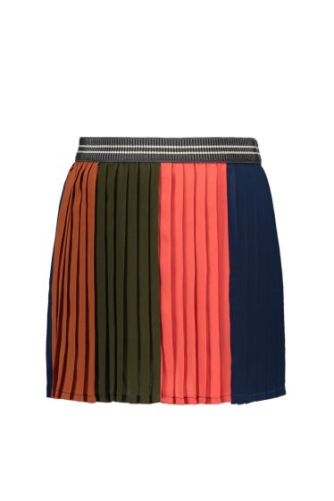 FLO Skirt  F908-5701 colourblock