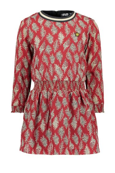 FLO Dress F909-5812  smock