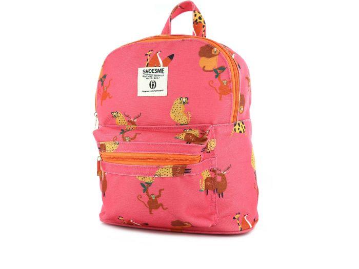 Shoesme Rugzak BAG9A039-A Pink animal