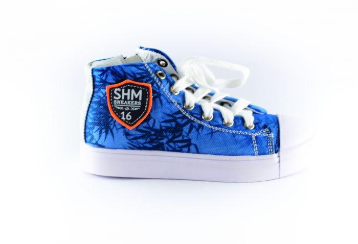 Shoesme palm sneaker SH8S016-G-blue