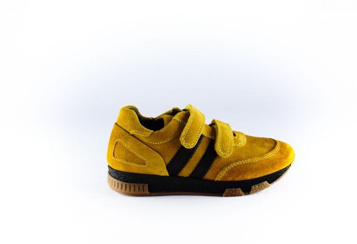 Freesby sneaker 595W Yellow topaz