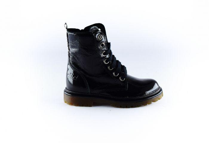 Clic Bootie CL-9584-TN zwart lak