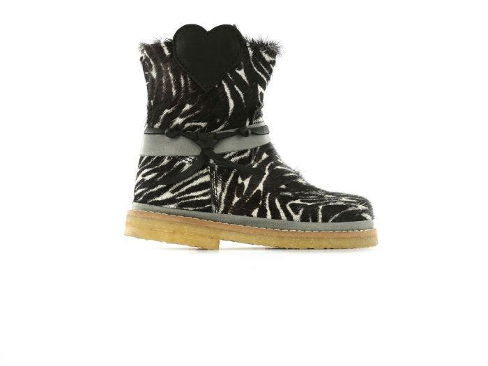 Shoesme baby crepe  BC9W064-D Zebra Black