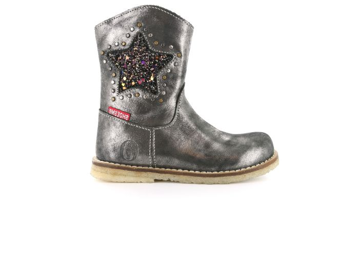 Shoesme Crepe CR7W091-B zilver