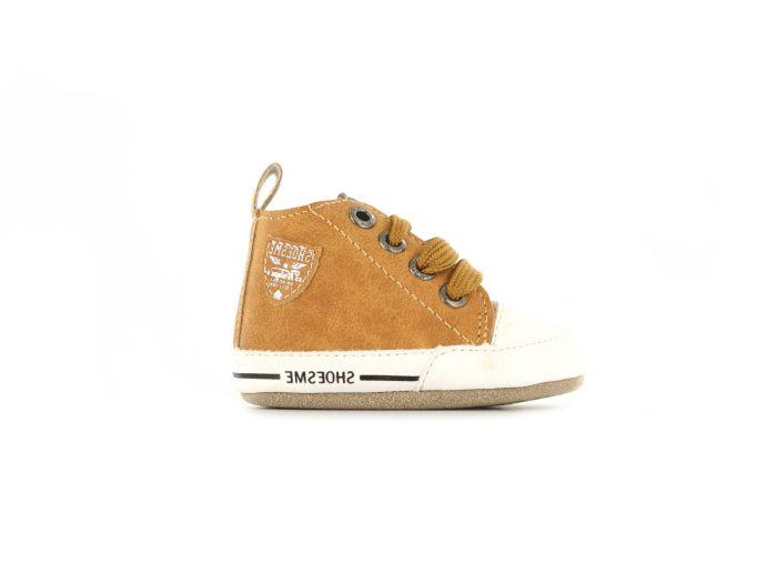 Shoesme babyslofje BS9A002-B Cognac