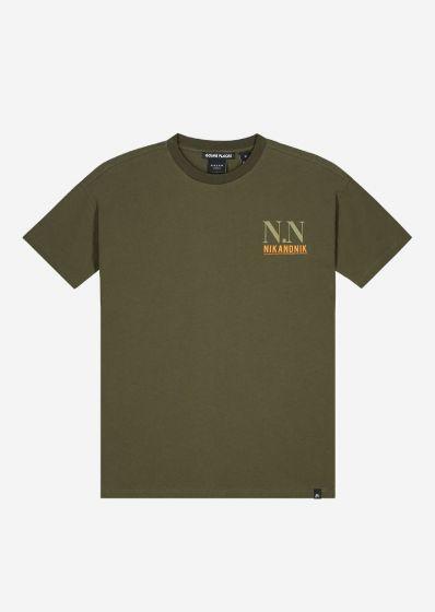 Nik&Nik leandro  tshirt   B8-741-2002 green